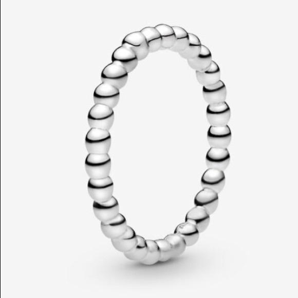 Authentic Pandora Beaded Ring, 7 (54)